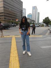 DSCN8736 (Avisheena) Tags: avisheena model candid hello world jeans outfit town photograph