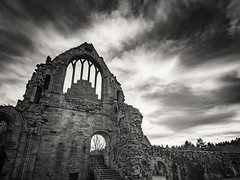 20190224-0105-Edit (www.cjo.info) Tags: bw dryburgh dryburghabbey europe europeanunion historicscotland m43 m43mount microfourthirds nikcollection olympus olympusmzuikodigitaled918mmf4056 olympuspenf scotland scottishborders silverefexpro silverefexpro2 unitedkingdom westerneurope abbey architecture blackwhite blackandwhite carving cloud digital evening eveninglight gothic monochrome religion religiousbuilding ruins sky stone stonework winterlight