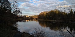 IMG_20181225_110626 (LezFoto) Tags: huawei huaweimate10pro mate10pro mobile cellphone cell blal09 huaweiwithleica leicalenses mobilephotography duallens riverdon aberdeen scotland unitedkingdom reflections water river clouds sky reflection