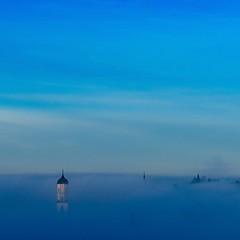 Morgennebel über der Stadt / Morning mist over the city (Bernd-BeNeFoto@gmail.com) Tags: morgennebel mist morning biberach nebel