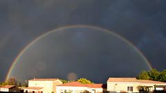 Arc en ciel à Chateauneuf du Rhône (laurentbourg07) Tags: arc en cliel france provence
