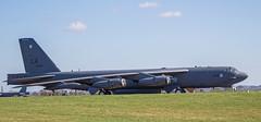B-52H Stratofortress at RAF Fairford, Gloucestershire (baldychops) Tags: b52 b52h stratofortress usaf usairforce bomber huge big fairford raf raffairford gloucestershire airfield aircraft flight fly flying aviation military outdoor sunshine sun