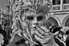 Venice Carnival 2019 (vittoria_erc) Tags: mask italy blackandwhite white black art portrait 2019 carnival venice