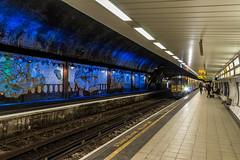 James Street station (Philip Brookes) Tags: train railway underground liverpool track station wirral tunnel frieze england merseyside britain