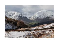 Seathwaite (Ade G) Tags: landscape nature seasons weather clouds fells light mountains plants snow trees winter