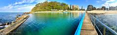 Forster Ocean Baths & Forster Main Beach, Forster, Mid North Coast, NSW (Black Diamond Images) Tags: forstermainbeach forsteroceanbaths forster midnorthcoast nsw nswoceanbaths oceanbaths oceanpool swimmingpool australianbeaches beach nswbeaches bullring