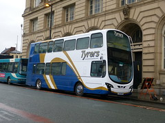 Tyrers LX11CVN 181201 Manchester (maljoe) Tags: tyrersadlington tyrers railreplacement