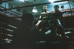 (Warat Kasitanon) Tags: thailand thaiboxing boxing defeat decisivemoment film fujifilm superia premium 400