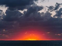 P1091323 (mr. Wood) Tags: ep5 computar olympus cyprus paphos larnaca mediterranian waves sunset sea water sky
