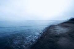 das Ufer (kuestenkind) Tags: icm intentionalcameramovement strand beach langzeitbelichtung
