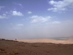 quiet (Amiti) Tags: landscape sky cloud clouds blue water sea deadsea masada israel jewish jews history roman calm quite mountain relics nationalpark negev deseret olympus epm2 34 religion tranquility
