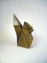 Squirrel - Jun Maekawa (Rui.Roda) Tags: origami papiroflexia papierfalten ardilla esquilo écureuil squirrel jun maekawa