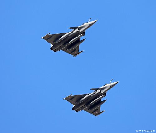 Armee de l'Air Dassault Rafale C 138/30-GQ & 141/30-GT, EC 2/30 Normandie-Niemen, TLP 2019-1, Albacete AFB/LEAB