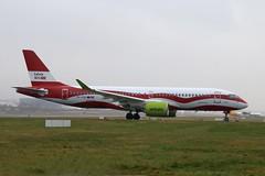 YL-CSL - LGW (B747GAL) Tags: air baltic airbus a220300 lgw gatwick egkk ylcsl latvia 100 years