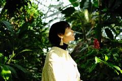 う - 16→20 - (atacamaki) Tags: xt2 23mm f14 xf fujifilm jpeg撮って出し atacamaki japan tokyo 夢の島熱帯植物館 夢の島 nature woman ハタチ people う 弟子 成人式 girl day face うちゃん 大学生 日本 新木場 東京