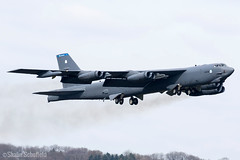 Boeing B-52H Stratofortress 60-0058 US Air Force RAF Fairford 06/04/19 (Shaun Schofield) Tags: bomber b52h buff boeing stratofortress usaf raf fairford aircraft aviation