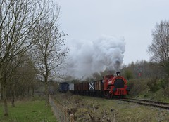At the Chasewater Railway (4) (lewispix) Tags: bagnall 284246 040st steam locomotive