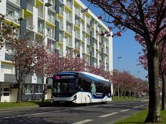 Heuliez GX 337 Linium Elec (ChristopherSNCF56) Tags: heuliez bus gx337 linium elec electrique transport urbains ctrl lorient t1a ligne