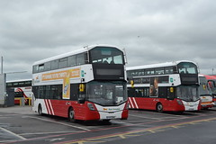 Bus Éireann VWD83 172-D-15866 & VWD76 172-D-15860 (Will Swain) Tags: dublin broadstone depot 16th june 2018 bus buses transport travel uk britain vehicle vehicles county country ireland irish city centre south southern capital éireann vwd83 172d15866 vwd76 172d15860 vwd 83 76