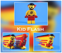 Kid Flash (-Metarix-) Tags: lego super hero minifig dc comics comic wally west wallace kid sidekick teen titans rebirth new 52 universe custom cowl speedforce