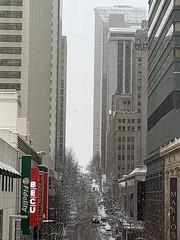 02092019-38 (Fruitcake Enterprises) Tags: seattle snow skyscrapers pacificplace skywalk seattlemunicipaltower hiltonseattle washingtonathleticclub