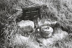 Annie Chapman (goodfella2459) Tags: nikonf4 cinestillbwxx 35mm blackandwhite film analog cemetery manorparkcemetery anniechapman grave history crimehistory bwfp manilovefilm