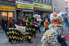 All dragons unite. (kuntheaprum) Tags: chinatownboston chinesenewyearcelebration yearofthepig sony a7riii tamron 2470mm f28 festival parade dragon firework