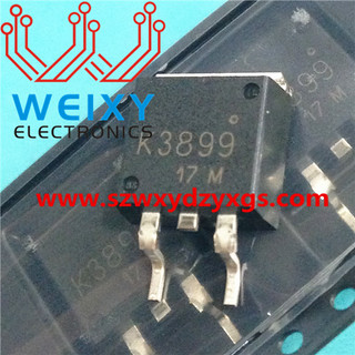 K3899 commonly used vulnerable driver chips for excavator ECM