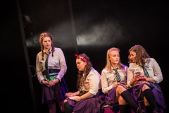 Girls Like That _ Production Photos (SteMurray) Tags: review girls like that panel evan placey zine harris abbey theatre peacock show stage ireland irish student students dit tu rathmines dublin ste murray steie stemurray onstage production photos music dance performance colour pink flower