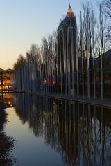 Night settles in (lebre.jaime) Tags: portugal lisbon riverside nikon d600 afsnikkor5018g digital dusk mirror