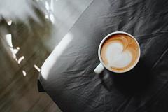 反正Flickr續約了,就再來亂放照片吧!娃兒從澳洲帶回來的豆子真的不錯!今天拉花很順利,哈哈! (shinox Chen) Tags: heart 愛心 拉花 rnifilms 日記 coffee 咖啡