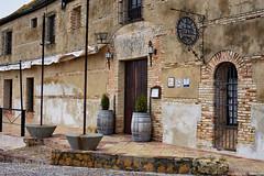 Molina de la Romera Restaurant, Carmona (Jocelyn777) Tags: facades doorsandwindows stone brick architecture buildings walls textures villages towns carmona andalucia spain travel