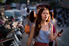 Thai GlamorizAsian (Carl's Captures) Tags: candid portrait streetphotography streetshooting chiangmaithailand nimman urban woman female fashion style smartphone southeastasia thai siam asian story sleeveless nikond7500 sigma18300 photoshopbyfehlfarben thanksbinexo