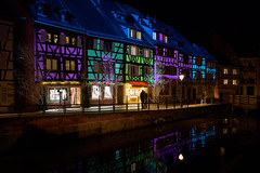 Ghosts of Christmas Present (craigcallagher) Tags: colmar christmas lights street medieval fairytale market