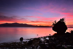 mushroom (prinz59prince) Tags: twiligth sunset philippines davao oriental travel nature sky clouds seascape colors rock magic moments dreaming nikon tripod mati