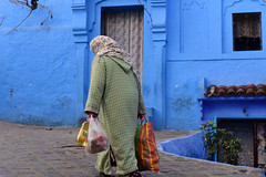 Chefchaouen, Morocco, January 2019 D810 768 (tango-) Tags: chefchaouen bluecity villaggioblu bluevillage morocco maroc 摩洛哥 marruecos марокко المغرب