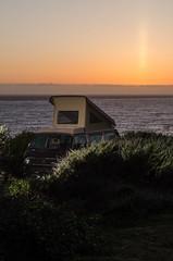 (breakbeatbilly) Tags: bigsur volkswagen popup van vw sunset ocean landscape theautomobilelife