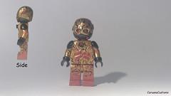 Custom LEGO DC: Zoom (Caruana Customs) Tags: flash zoom professor cw custom lego dc comics hunter zolomon sculpted painted