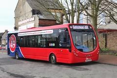 Go North East 5461 / NK66 EWM (TEN6083) Tags: gateshead winlaton winlatonbusstation streetlite wrightbus wright nk66ewm 5461 the49 gonortheast nebuses buses bus publictransport transport