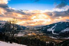 Abendstimmung (chrispics4ever) Tags: chrispics4ever landscape landschaft berglandschaft winterzauber winterlandscape wintertime sonnenuntergang