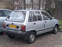 1988 Suzuki Alto (harry_nl) Tags: netherlands nederland 2019 utrecht suzuki alto sv61lb sidecode4