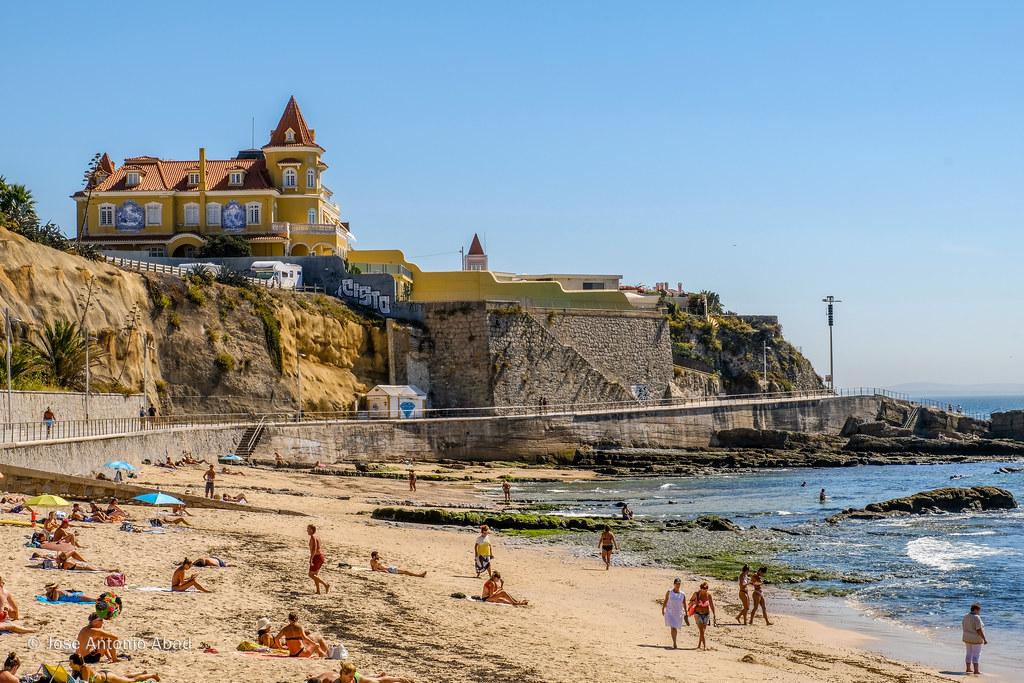 7fcf9254de41 Praia da Poça Estoril, Portugal (Jose Antonio Abad) Tags: agua  joséantonioabad mar