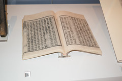 Early printing in Chinese and Korean (quinet) Tags: 2017 antik asia canada ontario rom royalontariomuseum toronto ancien antique