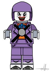 joker + jetpack joker (lego batman (animated series) (Mr Lego Customs (my other account got deleted)) Tags: lego batman dc joker dlc animated series super villian plane toy remote custom digital designer decal