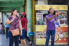 I want Some.... (Beegee49) Tags: street food people filipina laughing luminar sony a6000 planet happy bacolod city philippines asia