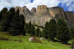 Dolomites (annalisabianchetti) Tags: dolomites dolomiti alps mountains montagne trentinoaltoadige italy beautiful travel trees paesaggio landscape