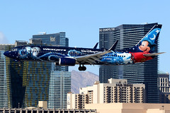 WestJet | Boeing 737-800 | C-GWSZ | Disney Mickey Mouse livery | Las Vegas McCarran (Dennis HKG) Tags: aircraft airplane airport plane planespotting canon 7d 100400 lasvegas mccarran klas las westjet wja ws disney disneyland mickeymouse boeing 737 737800 boeing737 boeing737800 cgwsz