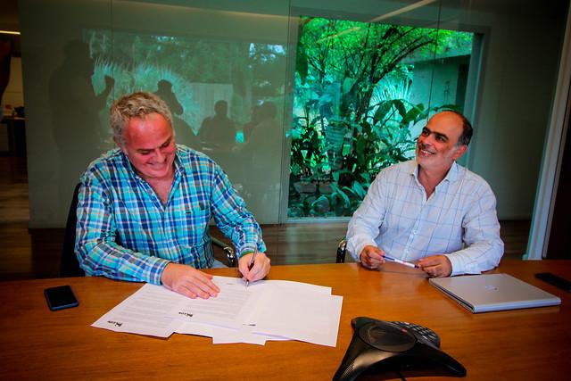 Firma de Convenio con Grupo El Azul | MAR 2019