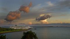 _DSC9250 (slackest2) Tags: northern territory australia sky clouds sunset stormie sea timor boat ship sun pricess cruise darwin