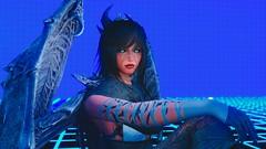Elder Scrolls V  Skyrim Screenshot 2019.04.01 - 10.16.37.21 (SasakiPajero) Tags: demon 3d elder videogame snapdragonprimeenb enb eyes tes tesv v portrait face girl